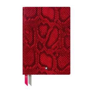 Notizbuch #146 liniert, Python Print, cayenne